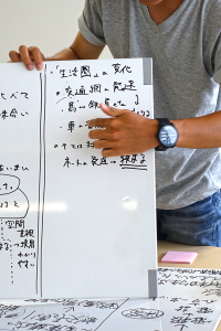 各班で決めたテーマについて、調査と問題解決のためのプラン提言のグループワークも行いました。